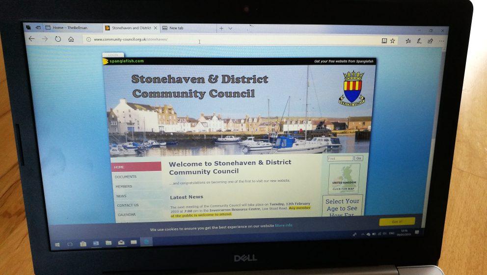 stonehaven community council website