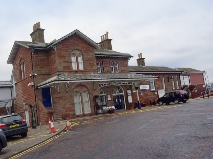 photograph of Stonehaven Train Station