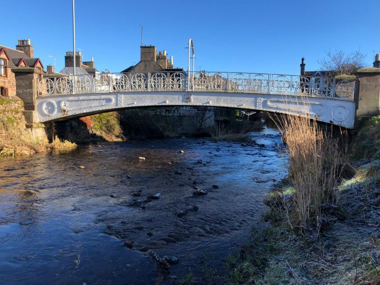 Picture of the White Bridge over the Carron River