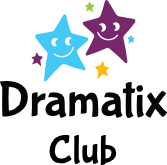Dramatix Club logo with little stars