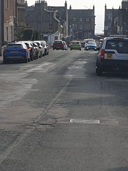 Road of Evan Street
