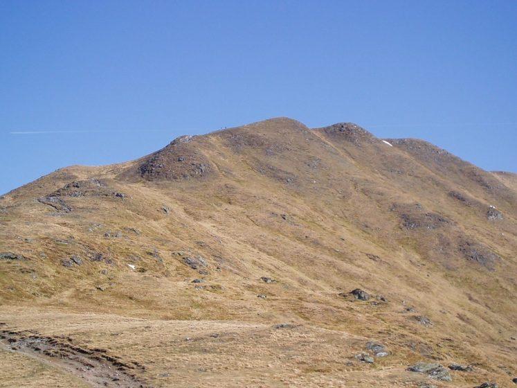 image of mountain top in full sun
