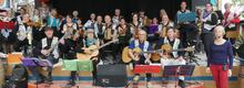 large group of musicians