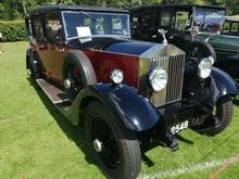 beautiful vintage Rolls Royce