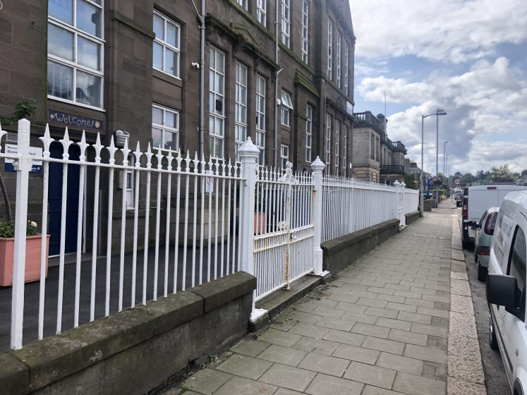street front at Dunnottar Primary