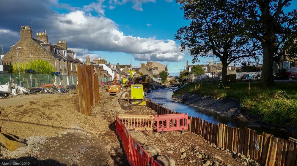 river carron flood works