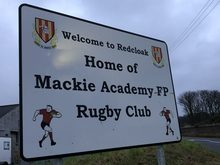 Rugby Club sign