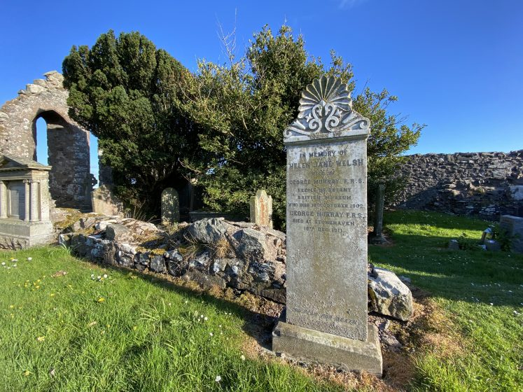 gravestone at Cowie kirkyard